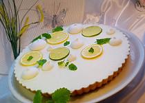 Citronový koláč s pusinkami