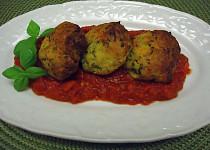 Koule z cukety v rajčatové omáčce