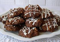 Ovesné sušenky s čokoládou a ořechy