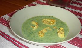 Polévka z medvědího česneku