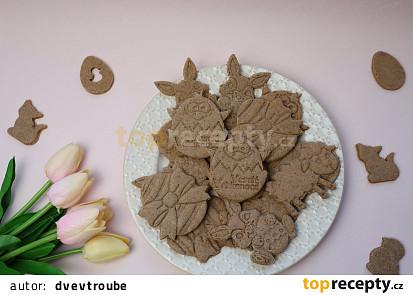 Skořicové sušenky ze 3D vykrajovátek
