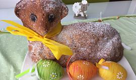 Velikonoční beránek s jablky