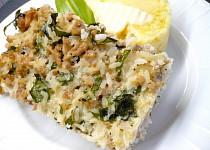 Zapečené vepřové maso s rýží a bylinkami