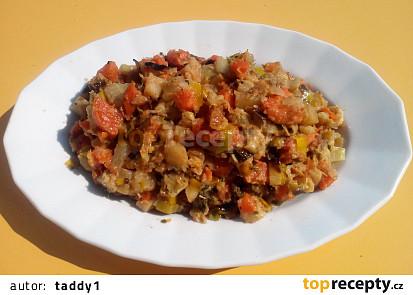 Zeleninová příloha k masu