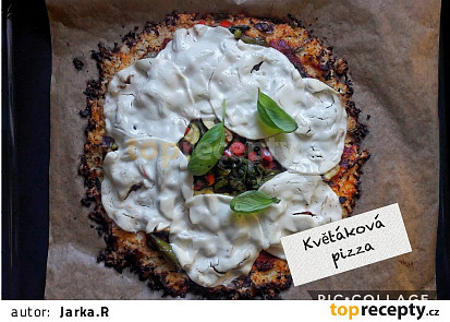 Low carb květáková pizza bez mouky