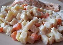 Teplý celerový salát