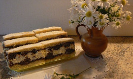 Mřížkové koláče s krémem