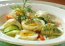 Studená koprová omáčka na vejce
