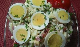 Vajíčkový salát se zeleninou
