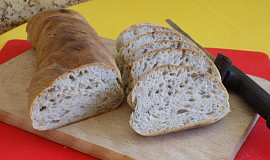 Žitno-ořechový chléb