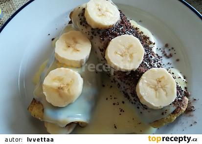 Banánové palačinky bez mouky