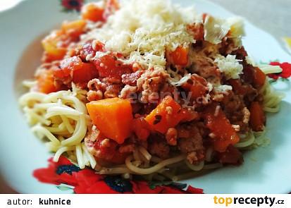 Boloňská omáčka s mrkví