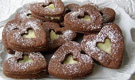 Kokosové košíčky a sušenky s kokosovým krémem