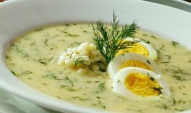 Koprová polévka s tarhoňou