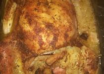 Kuře à la kachna na zelí