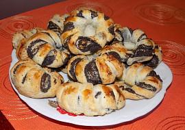 Makové koláčky z listového těsta