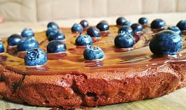 Ricottový čokoládový dort