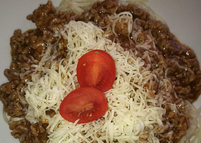 Směs na špagety z mletého masa 2