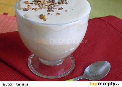 Tykvový/cuketový pohár s jogurtem a ricottou