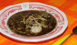 Beskydská houbová polévka