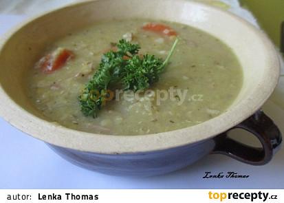 Čočková polévka s mrkví