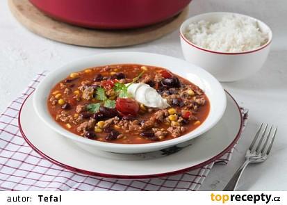 V tlakovém hrnci připravíte vydatnou večeři pro celou rodinu během chvilky! Vsaďte třeba na lahodné pestré chilli. Do hodiny můžete servírovat!