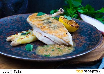 Rychlá, ale hlavně chutná večeře uprostřed týdne. Ideální na elektrickém konktaktním grilu. Vychutnáte si lehkou, a přitom originální večeři.