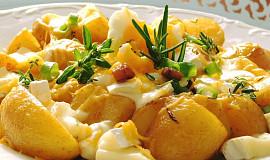 Letní oběd z nových brambor