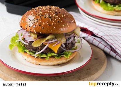 Přidat do kuchařky Burgery z hovězího mletého masa