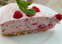 Tvarohový koláč z bílé čokolády
