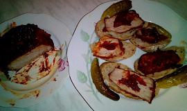 Vepřové vařené maso v pikantní pastě