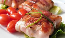Grilované tvarůžky ve slanině