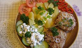 Holandské sekané řízky v sezamové krustě