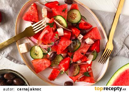 Melounový salát (vegan)