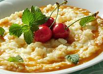 Mléčná rýže se slaným karamelem (z trouby)