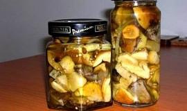 Nakládané houbičky - pro Yanull