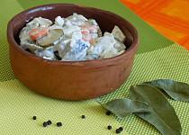 Salát z matjesů - starý německý recept (výborný)