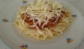 Špagety s pórkem