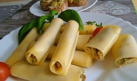 Sýrové ruličky s guacamole