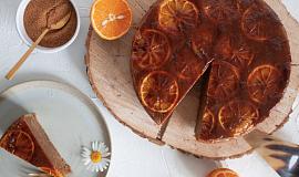 Vegan pomerančový koláč