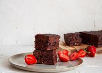 Cuketové brownies (vegan)
