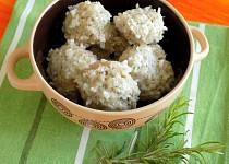 Ježky z masa a rýže podle Marie Janků Sandtnerové
