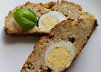 Sekaná s vajíčkem a sýrem