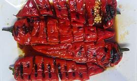 Grilovaná paprika - po řecku