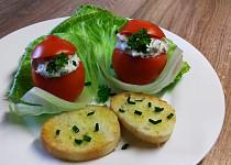 Plněná rajčata se žampiony