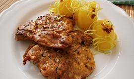 Přírodní marinované kuřecí řízky