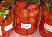 Sterilovaná rajčátka