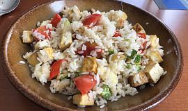 Tofu rizoto se zeleninou
