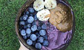 Blueberry acai bowl
