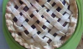 Linecký koláč s ovocem